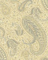 Beige Modern Paisley by  Brewster Wallcovering
