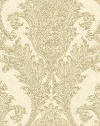 Neutrals Archer Acanthus by  Brewster Wallcovering