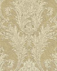 Beige Archer Acanthus by  Brewster Wallcovering
