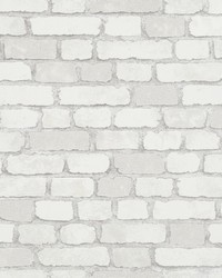 Granulat White Stone Wallpaper by