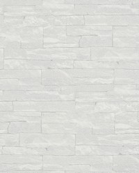 Rheta Grey Stone Wallpaper by