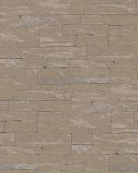 Rheta Brown Stone Wallpaper by