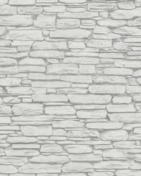 Kamen Light Grey Stone Wallpaper by