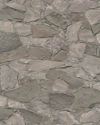 Stanley Charcoal Stone Wallpaper by