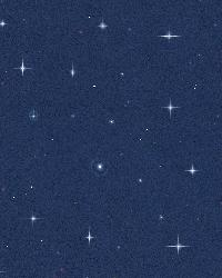 Night Sky Blue Stars by