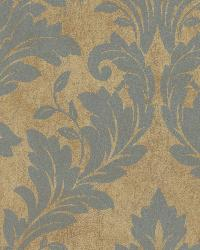 Brown Avalon Damask by  Brewster Wallcovering