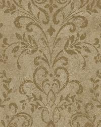 Espresso Country Damask by  Brewster Wallcovering