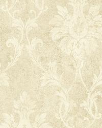 Neutrals Pineapple Damask by  Brewster Wallcovering