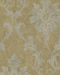 Brown Pineapple Damask by  Brewster Wallcovering