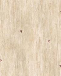 Liberty Wheat Heritage Star Toss Wallpaper by  Brewster Wallcovering