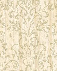 Reba Sand Country Faux Wood Wallpaper by  Brewster Wallcovering