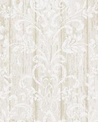 Reba Grey Country Faux Wood Wallpaper by  Brewster Wallcovering