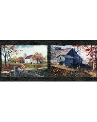 Norm Black Quiet Country Scenes Border by  Brewster Wallcovering