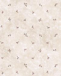 Cindy Blue Berry Spot Toss Wallpaper by  Brewster Wallcovering