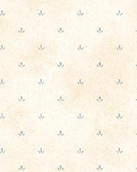 Ella Blue Paw Print Toss Wallpaper  by  Brewster Wallcovering