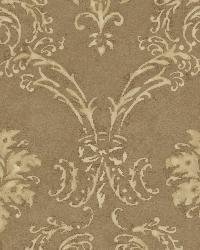 Copper Devon Damask by  Brewster Wallcovering