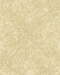 Celeste Wheat Paisley Damask by