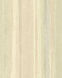 Sebago Moss Dry Brush Stripe by  Brewster Wallcovering