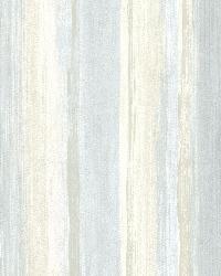 Sebago Blue Dry Brush Stripe by  Brewster Wallcovering