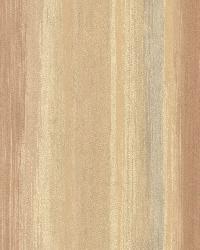 Sebago Burnt Sienna Dry Brush Stripe by  Brewster Wallcovering