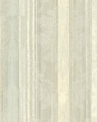 Rangeley Aqua New Avalon Stripe by  Brewster Wallcovering