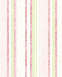 Belfast Pink Galop Stripe by  Brewster Wallcovering