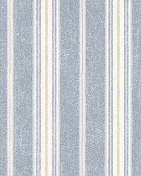 Jonesport Denim Cabin Stripe by  Brewster Wallcovering