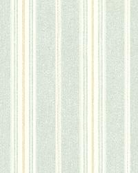 Jonesport Aqua Cabin Stripe by  Brewster Wallcovering