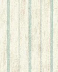Saco Sky Parker Stripe by  Brewster Wallcovering