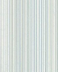 Wells Denim Candy Stripe by  Brewster Wallcovering
