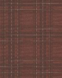 Fox Hollow Dark Red Plaid by  Brewster Wallcovering
