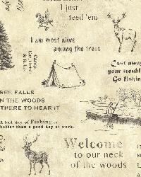 North Hills Beige Script by