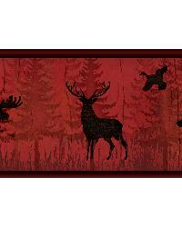 Saylorville Dark Red Lawndale Border by
