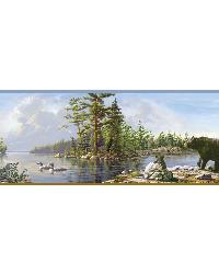 Carnegie Sky Moose Lake Border by