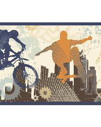 Shawn Orange Xgames Portrait Border by