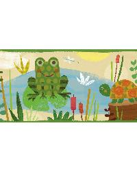 Kermis Sand Frog Marsh Toss Border by