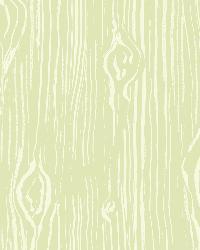 Oaked Moss Faux Wood Grain Wallpaper by