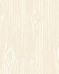 Oaked Pink Faux Wood Grain Wallpaper by