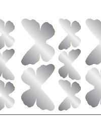 Butterfly Foil Wall Stickers by  Brewster Wallcovering