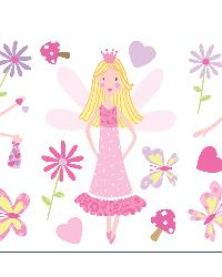 Fairy Garden Wall Stickers by  Brewster Wallcovering