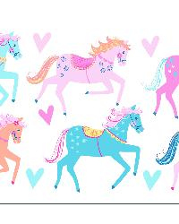 Carousel Wall Stickers by  Brewster Wallcovering
