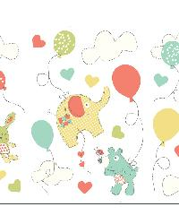 Fly Up High Multi Wall Stickers by  Brewster Wallcovering