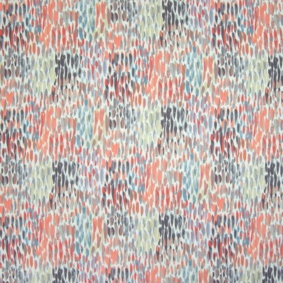 Greenhouse Fabrics B6660 CORAL Abstract Fabric