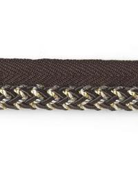 Abba Lipcord Charcoal by  Stout Trim