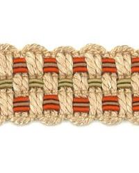 Adapt Braid Tangerine by  Stout Trim