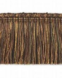 Adventure Brush Fringe Walnut by  Stout Trim