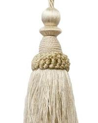 Battersea Key Tassel Ivory by