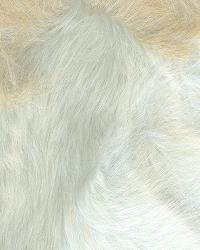 Beige Animal Print Faux Fur Fabric  Foxtrot Natural