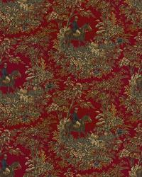 Ralph Lauren Ainsworth Cantebury Red Fabric