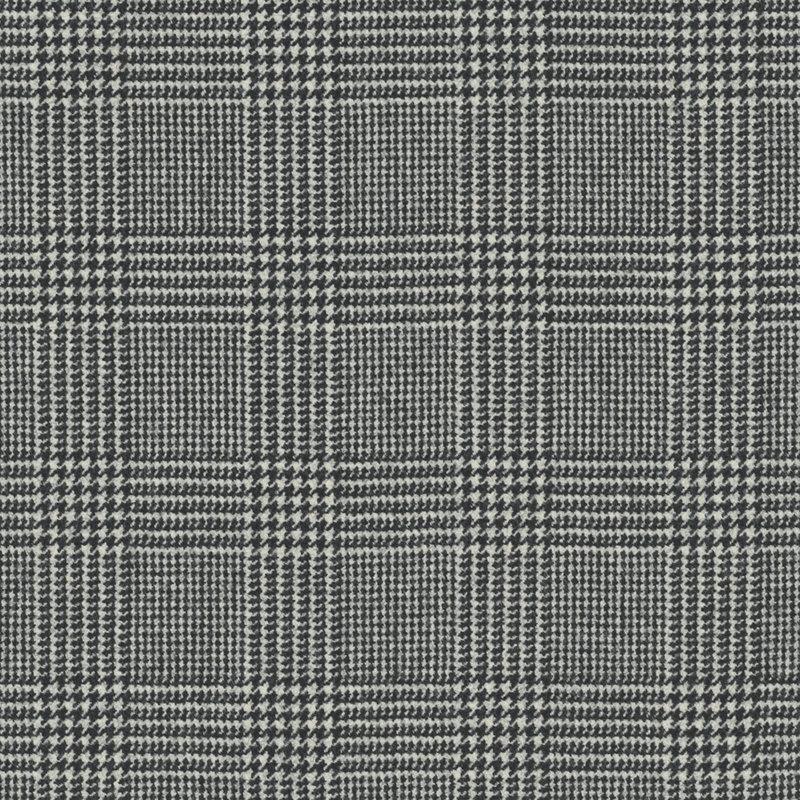 Ralph Lauren Fabrics Hathaway Glen Plaid Black Cream